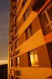 miasta pojęcia Europe wieczór wschód słońca Zdjęcie Royalty Free