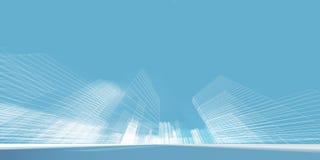 Miasta pojęcia 3d rendering Zdjęcie Stock