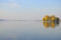 miasta pokojowy krajobrazowy zdjęcie stock