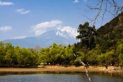 miasta porcelanowy lijiang Obraz Royalty Free