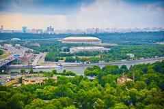 miasta powystawowy uczciwy izmailovo Moscow vernissage moscow rzeka Zdjęcie Stock
