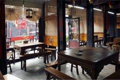 miasta pradawnych restauracji Zdjęcia Royalty Free