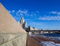 miasta punkt zwrotny Fotografia Royalty Free