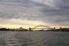 miasta ranek lato Sydney Zdjęcie Royalty Free