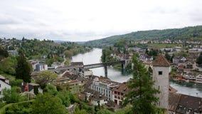 miasta rheine stein Switzerland widok Zdjęcie Stock