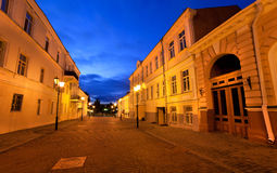 miasta rodzaju noc zdjęcia stock
