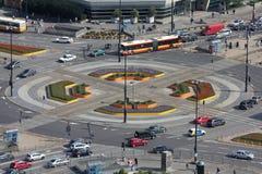 miasta ruch drogowy Obraz Royalty Free