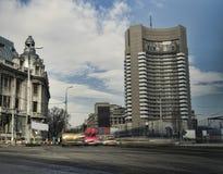 Miasta ruch drogowy Obrazy Royalty Free