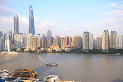 miasta Shanghai widok obrazy royalty free
