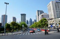 Miasta skrzyżowanie Zdjęcia Stock