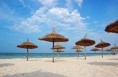 miasta sousse plaży Obraz Royalty Free