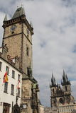miasta stary Prague kwadrat Obraz Stock
