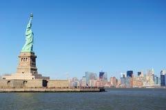 miasta swobody Manhattan nowa statua York Obraz Royalty Free