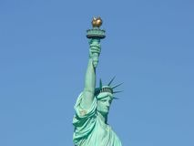 miasta swobody nowa statua York Zdjęcie Stock