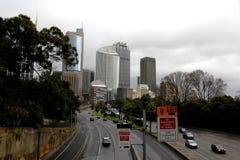 miasta Sydney ruch drogowy Obrazy Royalty Free