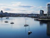 miasta Vancouver widok obraz royalty free