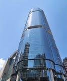 miasta współczesny Hong kong drapacz chmur Zdjęcia Stock