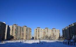 miasta zimno fotografia royalty free