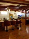 Miasteczka życie - mały kraju gość restauracji Zdjęcia Stock