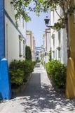 Miasteczka przybrzeżnego ulicy obraz royalty free
