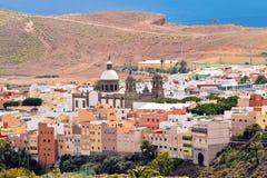 Miasteczko Aguimes w Granie Canaria Obrazy Stock