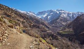Miasteczko Aroumd, Maroko fotografia royalty free