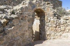 Miasteczko Consuegra w prowinci Toledo, Hiszpania obraz royalty free