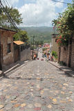 Miasteczko Copan Ruinas, Honduras, blisko do sławnego Majskiego archeologicznego miejsca Copan Obraz Royalty Free