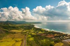 Miasteczko Hanapepe na Kauai obraz royalty free