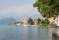 Miasteczko Iseo, Lombardy, Włochy Zdjęcie Royalty Free