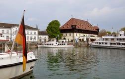 Miasteczko Kostanz, Bavaria, Niemcy Obrazy Stock