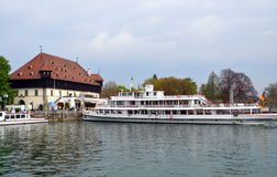 Miasteczko Kostanz, Bavaria, Niemcy Zdjęcie Royalty Free