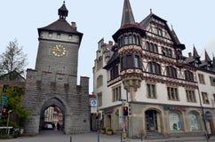 Miasteczko Kostanz, Bavaria, Niemcy Obrazy Royalty Free
