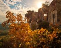 Miasteczko Les Provence, Francja Obrazy Royalty Free