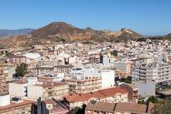 Miasteczko Mazarron, Hiszpania Zdjęcia Royalty Free