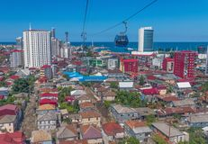 Miasteczko przybrzeżne Batumi, Gruzja obrazy royalty free
