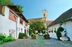 Miasteczko Szentendre w Węgry Obrazy Stock