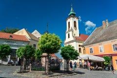 Miasteczko Szentendre w Węgry Fotografia Stock