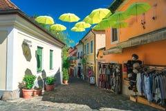 Miasteczko Szentendre w Węgry Zdjęcia Stock