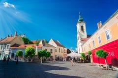 Miasteczko Szentendre w Węgry Obraz Stock