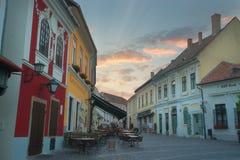 Miasteczko Szentendre w Węgry Fotografia Royalty Free