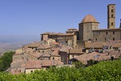 Miasteczko Volterra w Włochy Obrazy Stock