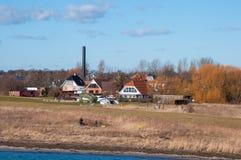 Miasteczko Vordingborg w Dani obraz royalty free