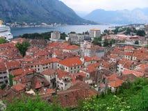 Miasteczko w Adriatic morzu Zdjęcia Stock