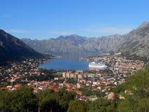 Miasteczko w Adriatic morzu Zdjęcie Stock
