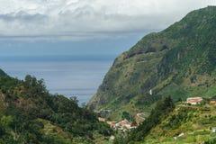 Miasteczko w górach Zdjęcie Royalty Free