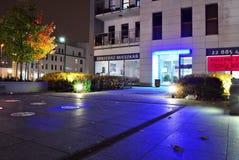 Miasteczko Wilanow 现代住宅区在华沙有名望的区  图库摄影