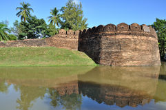Miasto ściana Chiang Mai Zdjęcia Stock