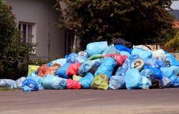 miasto śmieci. Zdjęcie Stock