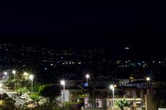 miasto światła w nocy obrazy royalty free